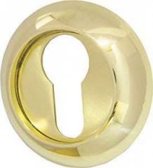 Накладка CYLINDER ET-1GP/SG-5 золото/матовое золото 2шт