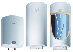 Boiler for water heating
