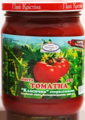 Томатная паста натуральная ТМ Пани Кристина