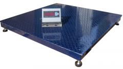 Platform scales of ZEVS A12ESS