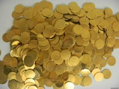 Preparations for coins