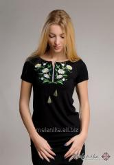 Daisies embroidered shirt G Code 44