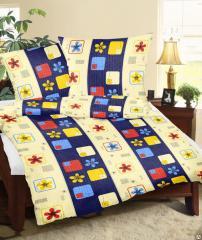 Bed linen of KOALA (flannel), children's,