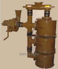 Filtering and ventilating FVA-49 unit.
