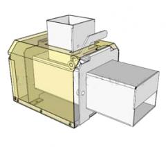 Комлект деталей для самоcтоятельной сборки пеллетной горелки ПЕЛЕТЕКС 15
