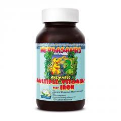Herbasaurs chewable Multiple vitamins Plus Iron