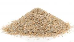 Granulated wheat bran