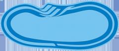 The sports pool of Atlant MINI 6,40 x 3,20 x