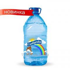 Вода питьевая природная негазированная Детская 6 л