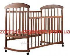 """Детская кроватка """"Наталка"""" (ясень тонированны"""