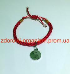 The bracelet the Red Thread was preserved on a