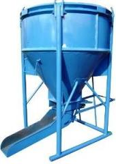 Bunker of concrete weight BBM-0,75 loading Height