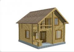 Дома срубы деревянные (УКРАИНА), Цена