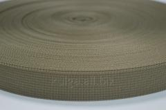 Лента ременная 4 см Койот