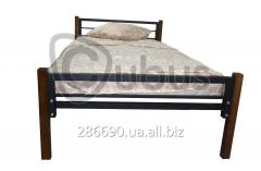 Single bed High tech 70\190 (black metallic)
