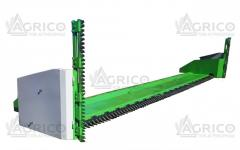 Facilities for harvesting of rape on PR 6.1 header 820, 620