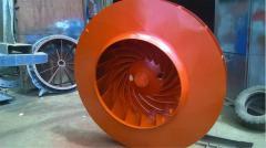 Рабочее колесо к дымососу ДН-21, ДН-19