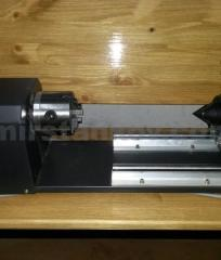 The rotary device on the laser engraver