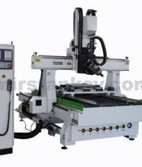 The five-axial engraving milling machine with ChPU