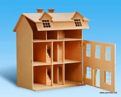 Игрушечный домик и мебель для кукол