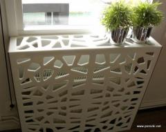 Decorative screens for radiators