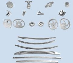 Castings from aluminum alloys, molding in the