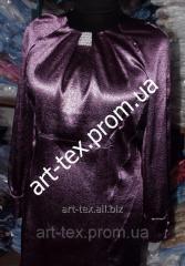 Платье ритуальное №8 с жемчугом,  жаккардт...