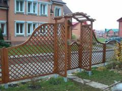 Arches garden wooden to order