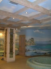Ceilings decorative to order Kiev