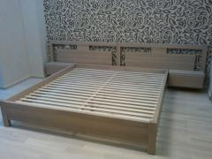 Wooden frameworks for beds Kiev