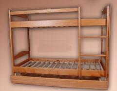 Кровати двухъярусные из натурального дерева Киев