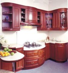 Production of complete kitchens Kiev area