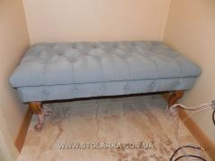 Ottoman from a natural tree to order