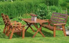 Chairs, benches and arbors to order