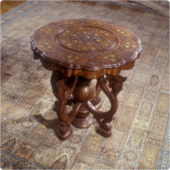 Tables wooden decorative to order