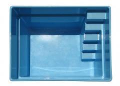Universal pool Breeze 2,6 x 2,1 x 1,50m