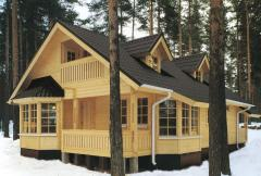 Turnkey frame and panel board houses