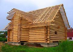 Дома каркасные из натурального дерева
