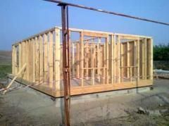 Frameworks for houses to order