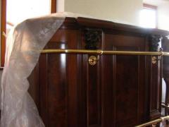 Столешницы для кухни и бильярда из дерева