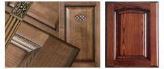 Furniture facades: MDF, chipboard, natural tree