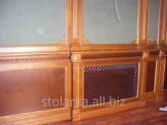 Wooden panels on walls Kiev
