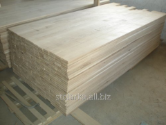 Parquet from the massif of an oak and an ash-tree