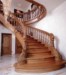 Spiral staircases under the order