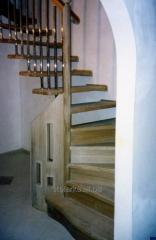 Ladders wooden it is inexpensive, production of