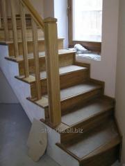 Ladders for giving elite, wooden mid-flight