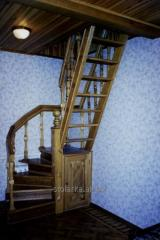 Beautiful mid-flight ladders for cottages