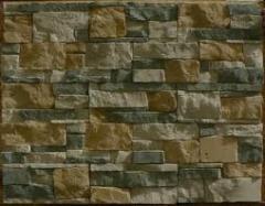 Tile facing under a stone, a tile Zaporizhia