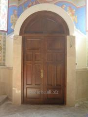 Doors are entrance wooden big