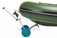 The cart for transportation of boats PVC